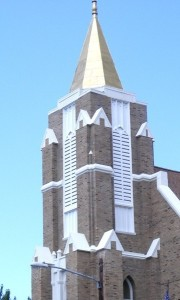 STEEPLE  RENOVATED ! 2012 Fr. Frank Karwacki's New Book